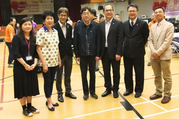 Over 360 Staff and Students Support HKCC Blood Donation Day 2