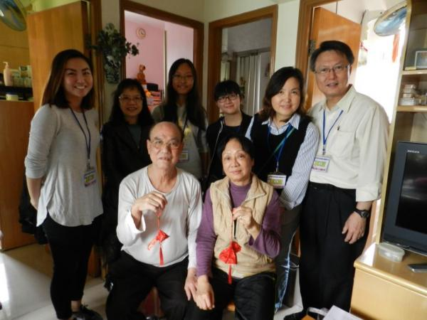 Rotaract Club of HKCC Students' Union Visits the Elderly 2